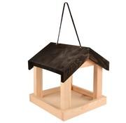 Merkloos Voederhuis hangend hout