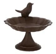 Trixie Trixie vogelbad op voet gietijzer bruin