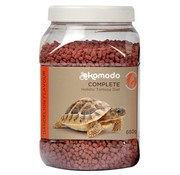 Komodo Komodo voer schildpad paardebloem