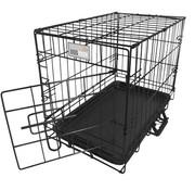 Doginox Doginox bench 1-deurs zwart