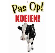 Merkloos Waakbord nederlands kunststof koeien