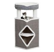 Trixie Trixie cat tower arma grijs / wit
