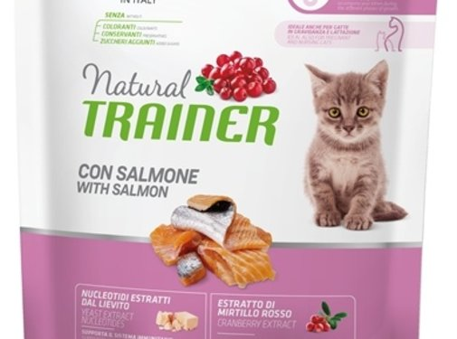 Natural trainer Natural trainer cat kitten salmon