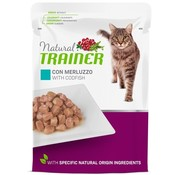 Natural trainer Natural trainer cat sterilised codfish pouch
