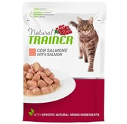 Natural trainer Natural trainer cat adult salmon pouch