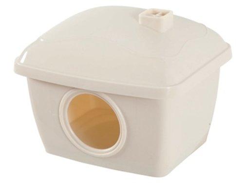 Zolux Zolux hamsterhuis plastic beige