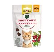 Gimcat Gimcat crunchy snack kalkoen met cranberry