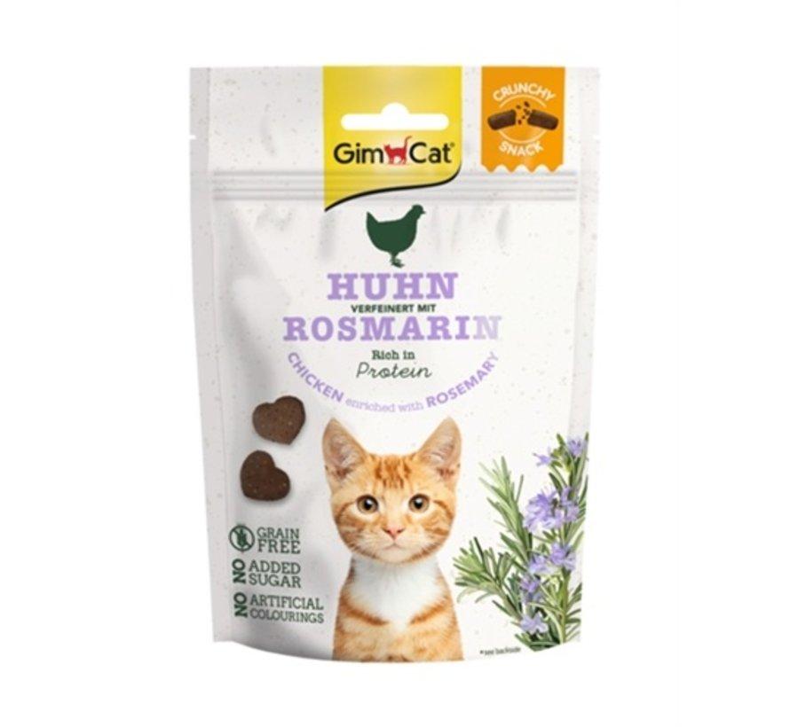 Gimcat crunchy snack kip met rozemarijn