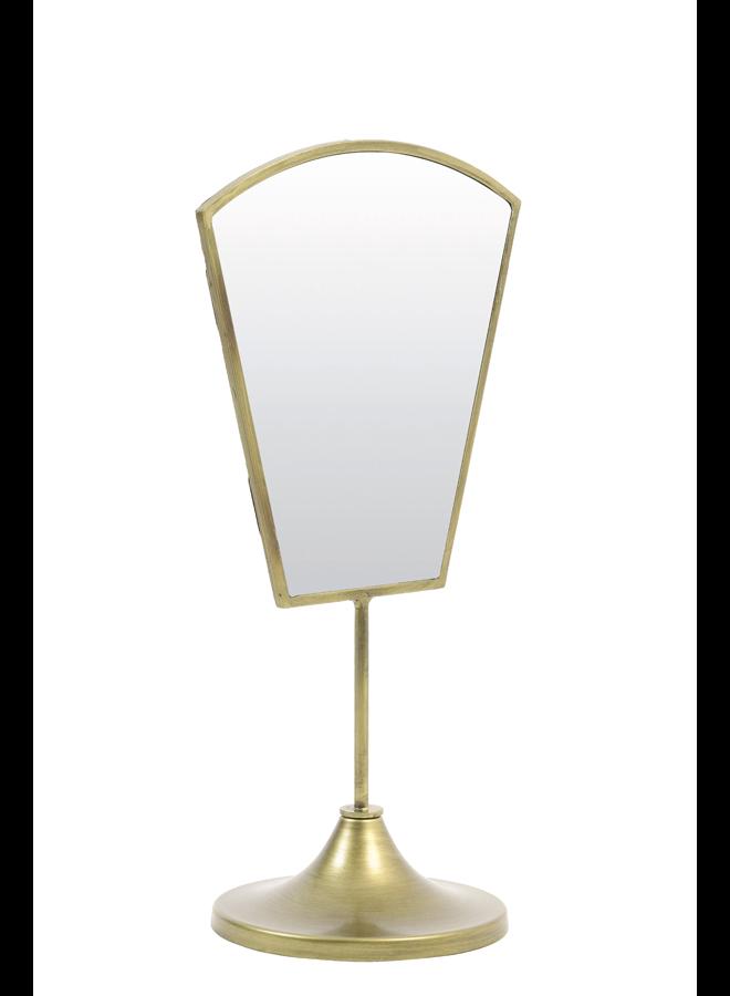 Spiegel goud 23x15x40