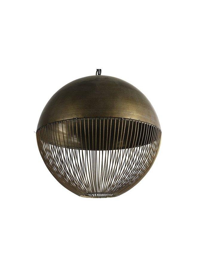 Hanglamp Kaspian L brons