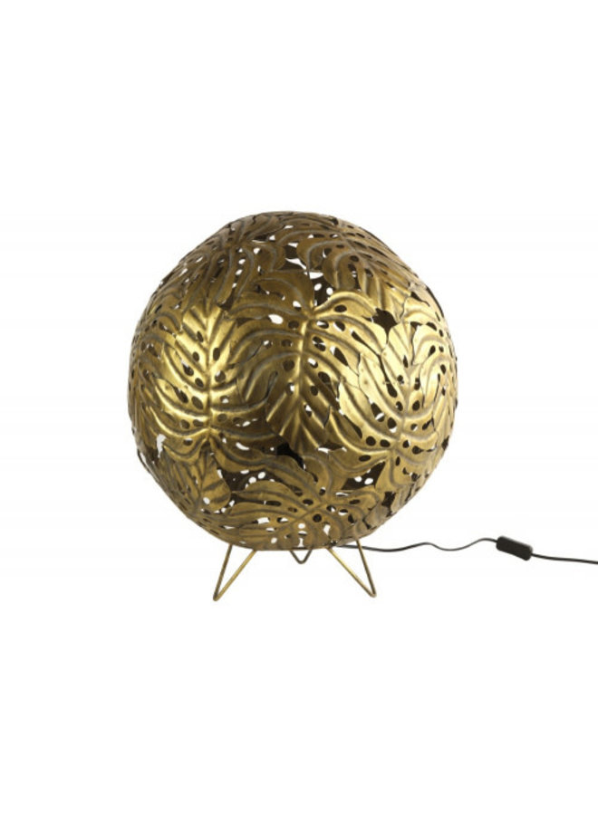 Vloerlamp Derry S goud 50 cm