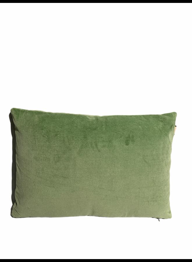 Cushion shellia licht groen