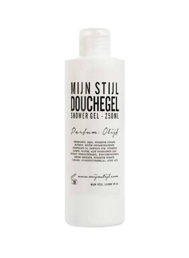 Douchegel parfum olijf 250 ml (witte fles)