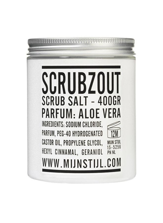 Scrubzout parfum aloe vera 400 gram