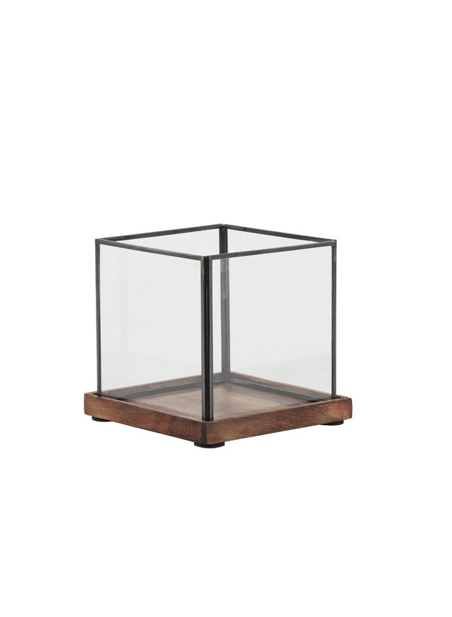Windl 17,5x17,5x16 CHIBO br-zw-glas