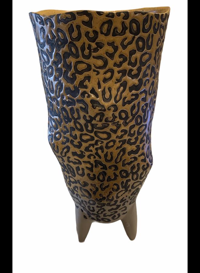 Vase panter 20x19x40