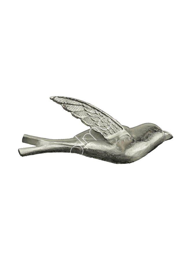 DECO WALL BIRD 31X10X12