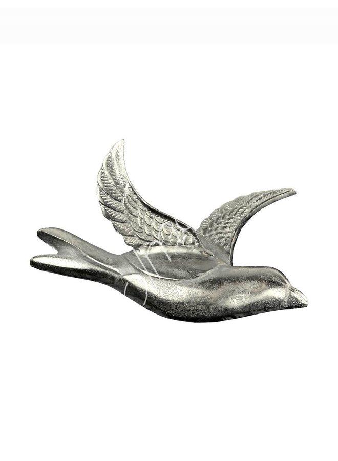 DECO WALL BIRD 32X22X16
