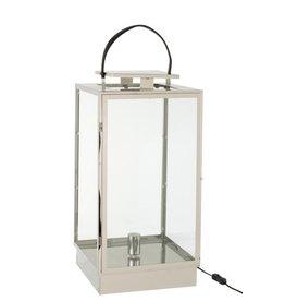 Lantaarn Lamp Zilver