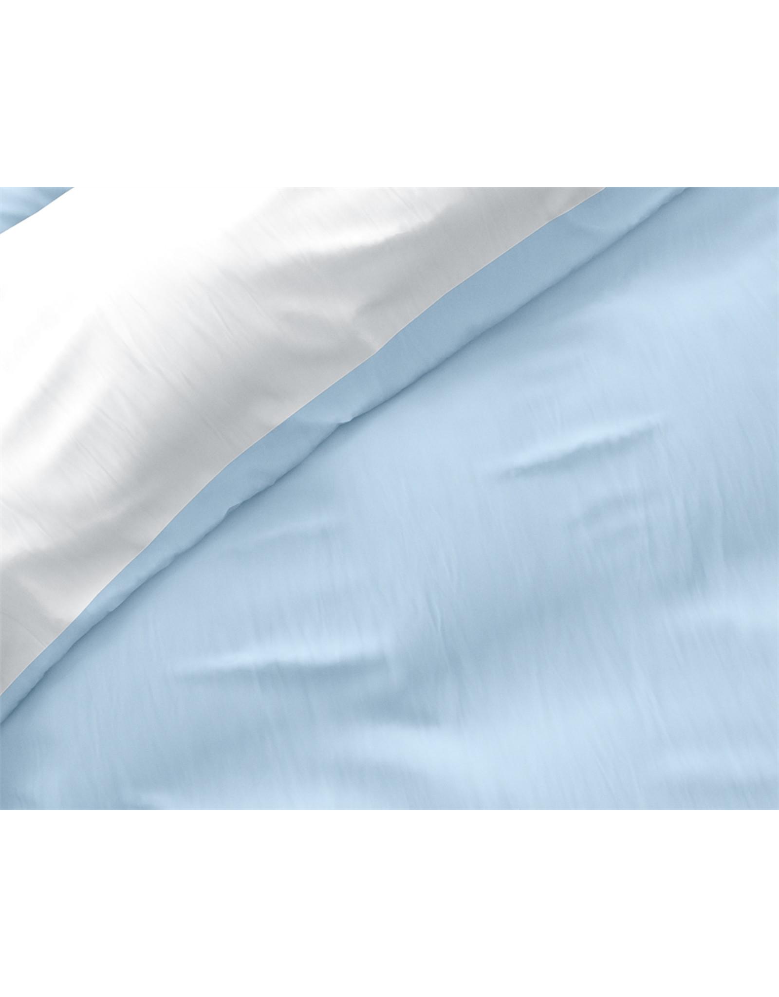 Dekbedovertrek Wit Blauw Twin Face