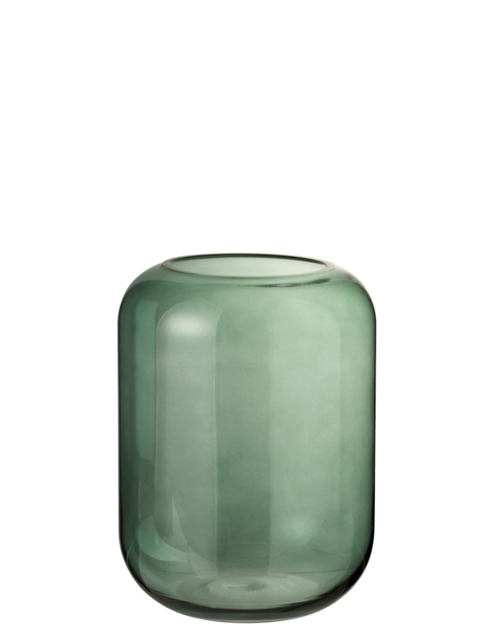 Vaas Groen Hoog Glas Medium