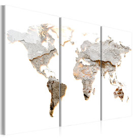 Schilderij Concrete Continents