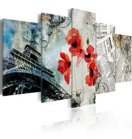 Schilderij Memories of Paris 5 Luiken