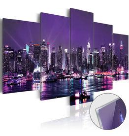 Schilderij Plexiglas Purple Sky 5 Luiken
