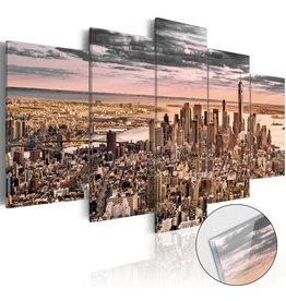 Schilderij Plexiglas New York 5 Luiken