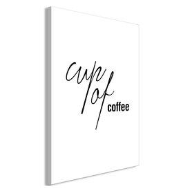 Schilderij Cup of Coffee