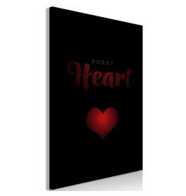 Schilderij Robot Heart