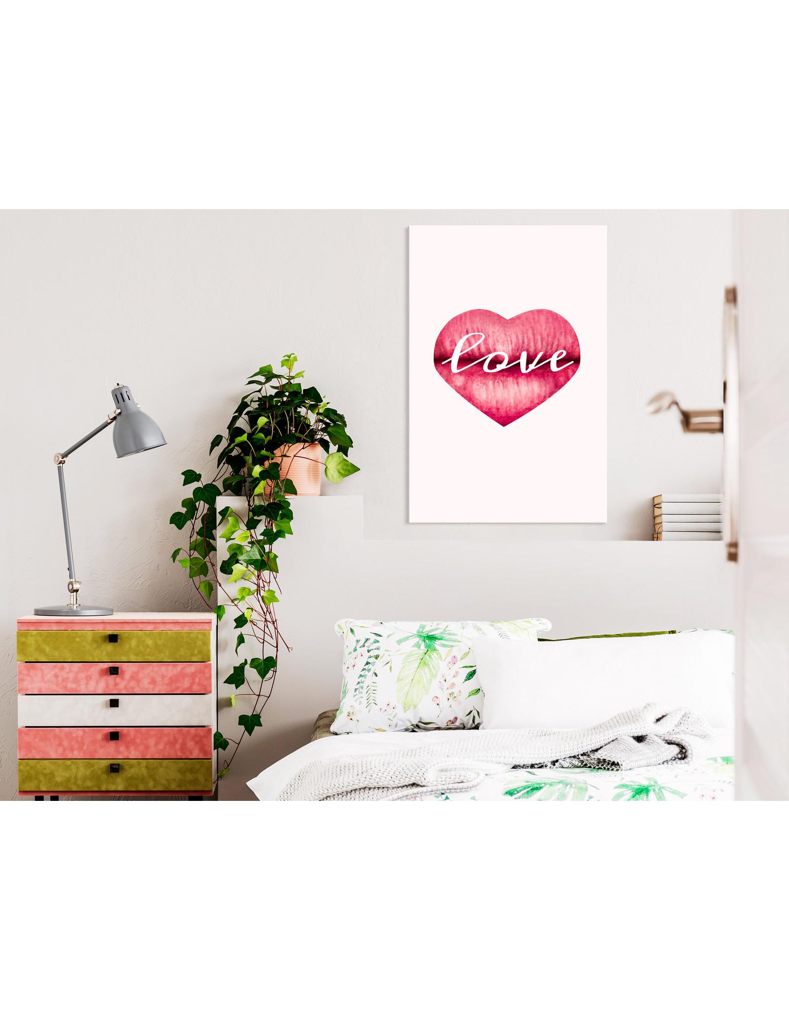 Schilderij Love Lips