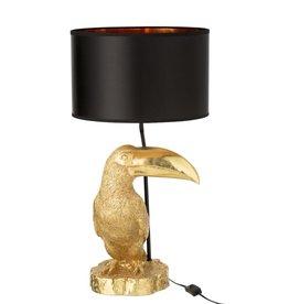 Tafellamp Goud Toekan