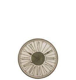 Klok Wit Groen Romeinse Cijfers