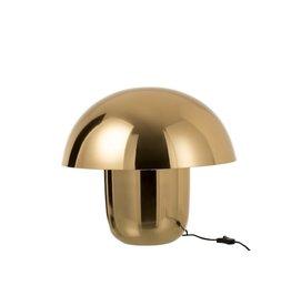 Lamp Paddenstoel Goud IJzer Large