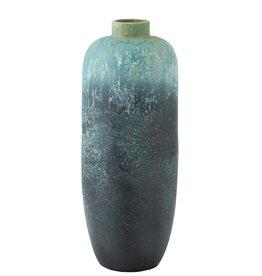 Vaas Blauw Vintage Large