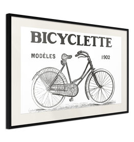 Poster - Bicyclette