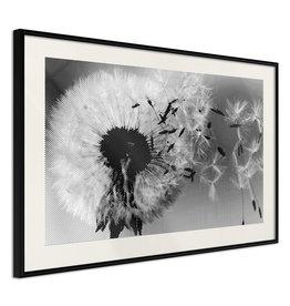Poster - Dandelion in the Wind