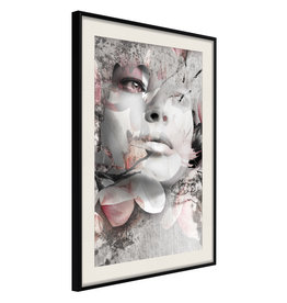 Poster - Lady in the Flowers