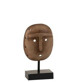 Beeld Masker Etnisch Licht Bruin
