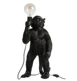 Lamp Aap Staand Zwart