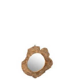 Spiegel Bruin Onregelmatig Medium