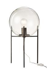 Lamp Zwart Bol op Voet