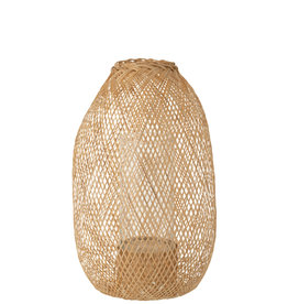 Lantaarn Bruin Hazelaar Bamboe