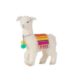 Decoratieve Lama Wol