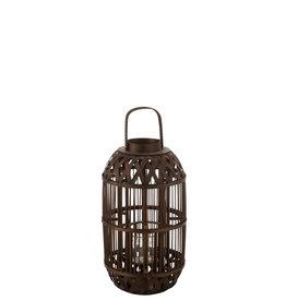 Lantaarn Bamboe Bruin