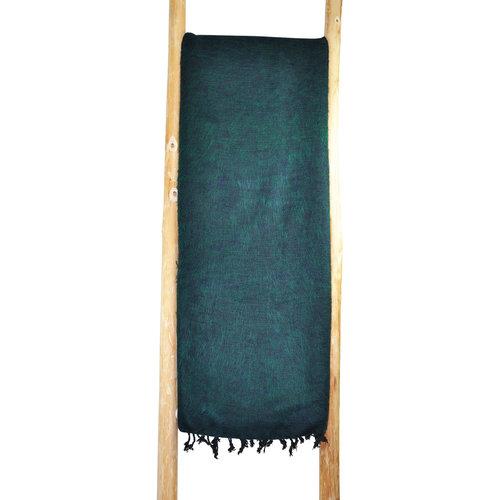 Dieses schöne Smaragd Grüne decke ist handgefertigd in Nepal. Warm | Weich | sticht nicht | Perfekt für das Sofa