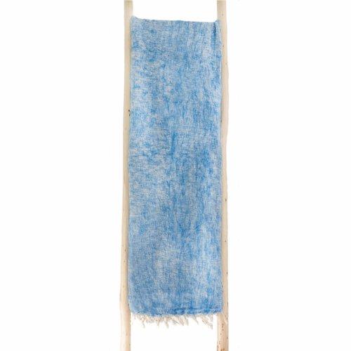 Dieses schöne Hellblaue couchedecke ist handgefertigd in Nepal. Warm | Weich | sticht nicht | Perfekt für das Sofa | Schneller Versand