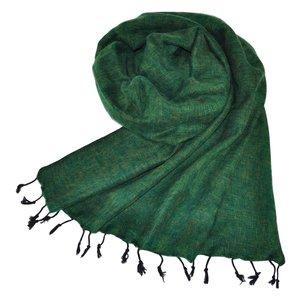 Nepal Schal Grün #924
