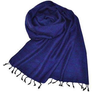 Nepal Schal Königsblau #922
